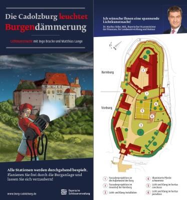 Lichtkunstnacht Cadolzburg